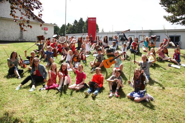 2015 Music Generation Traditional Music Summer School at Blessington (PHOTO - DAVE BARRETT)