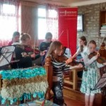 Violin Ensemble in Dunlavin 2015 MGW